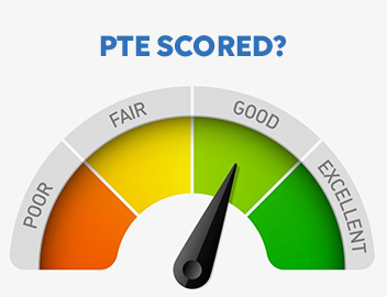 pte scoring system