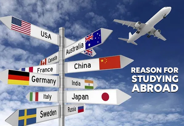reasons for studying abroad