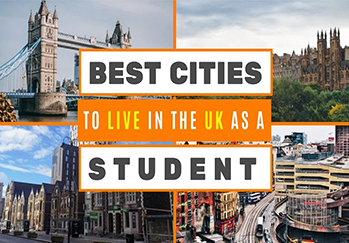 best cities to live in UK as student