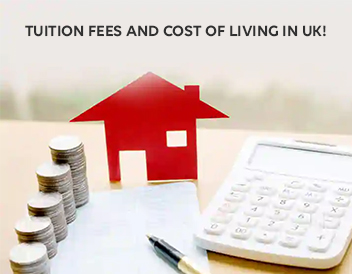 tuition fees and cost of living in UK